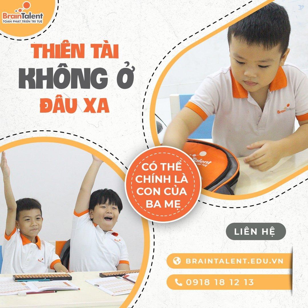 Chương trình học giúp bé phát triển trí tuệ