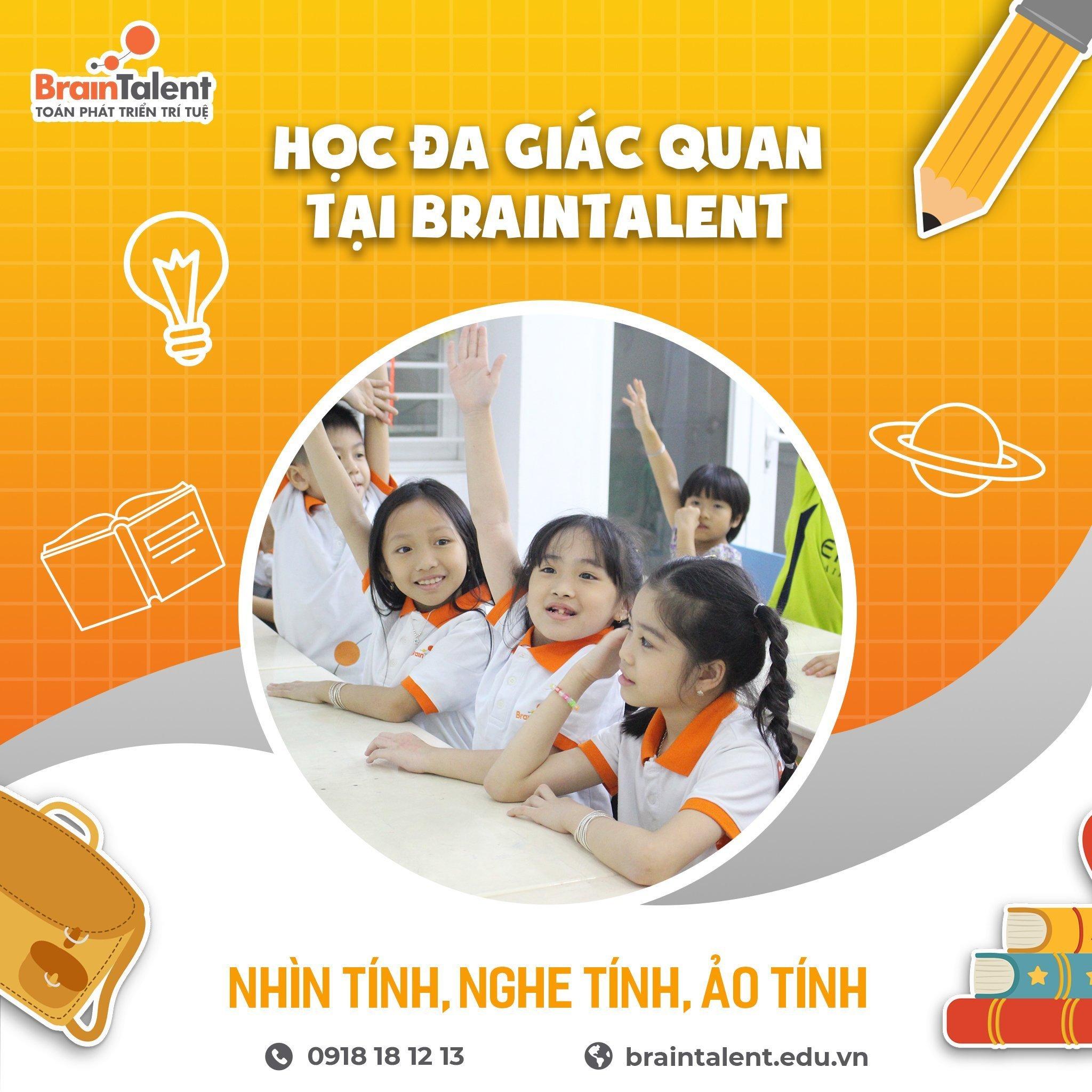 Học đa giác quan giúp bé phát triển trí tuệ