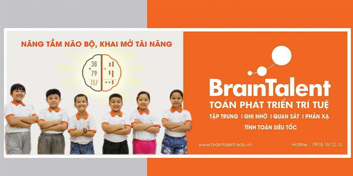Braintalent đã nghiên cứu và cho ra đời các khóa học dựa trên mong muốn là giúp bé hoàn thiện và phát triển tư duy được tốt nhất.