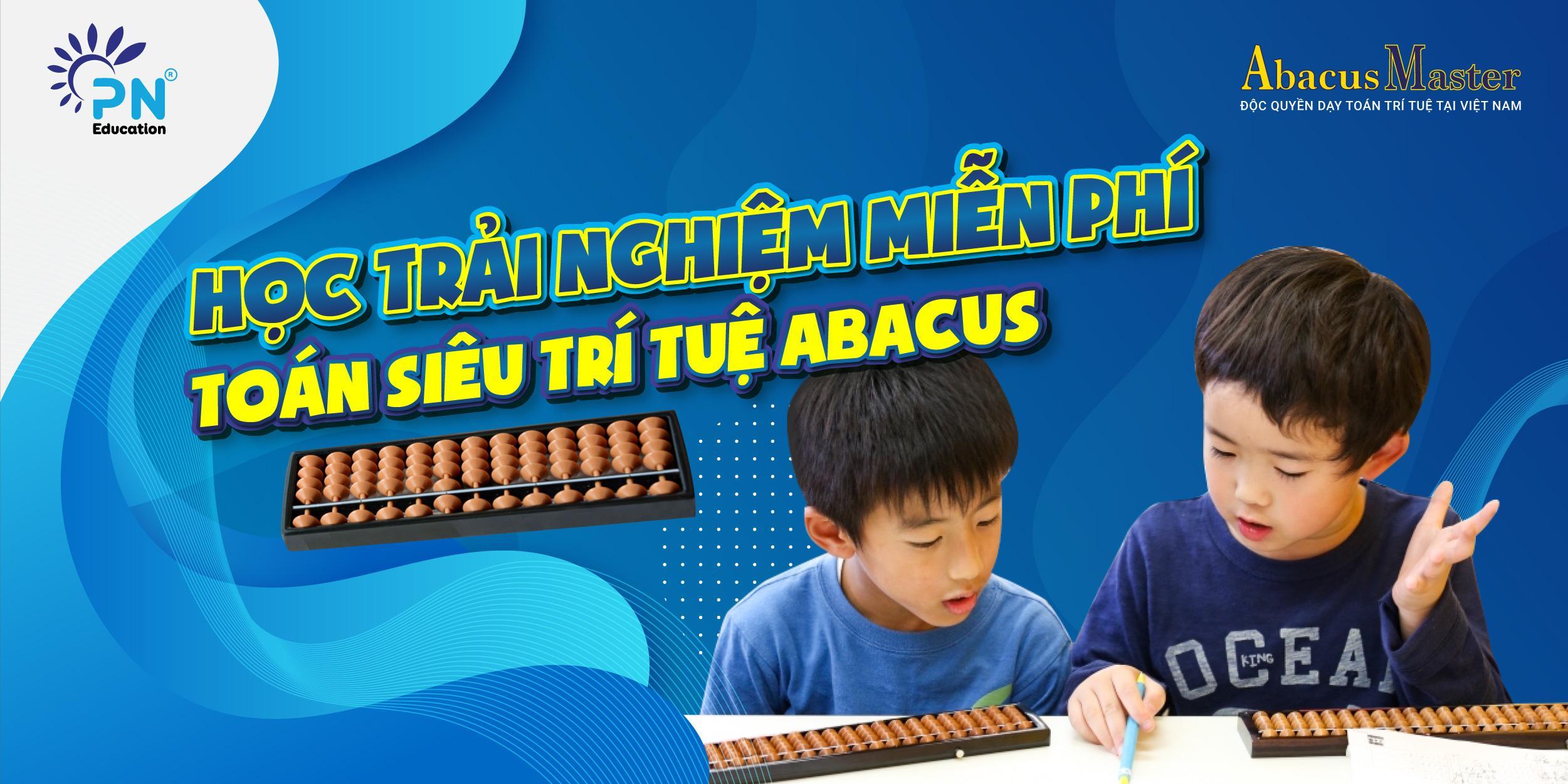 Abacus Master là địa điểm dạy toán khá uy tín tại TPHCM