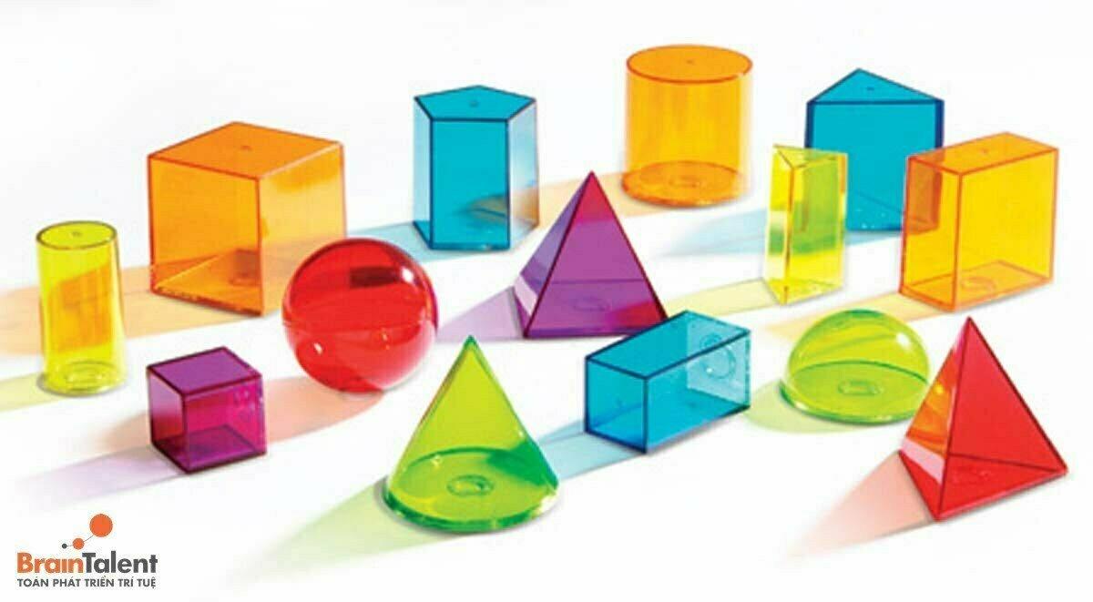 Dạng toán cho trẻ mẫu giáo về hình dáng, màu sắc