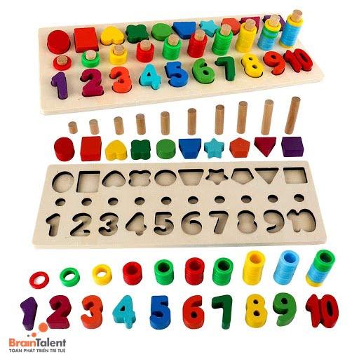 Dạng toán cho trẻ mẫu giáo về quy luật
